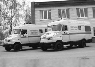 Спецавтомобили бронированные (передвижные пункты кассовых операций банка) для перевозки денежной выручки и ценных грузов на базе автомобилей «ЗИЛ-5301Р1»