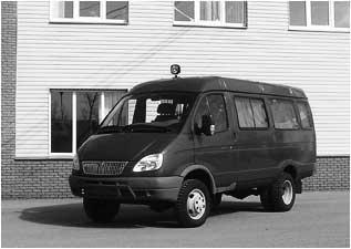 Автомобиль специального назначения - оборудованный под подвижный пункт управления мэра города Дзержинска на базе автомобиля «ГАЗ-32213»