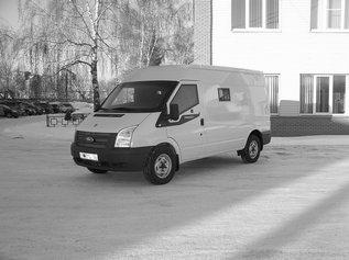 Cпецавтомобиль бронированный для перевозки денежной выручки и ценных грузов на базе автомобиля Ford Transit VAN 350 MWB