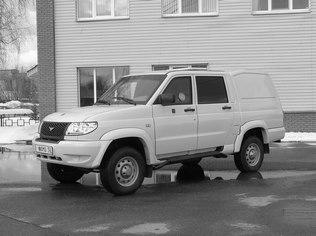 Спецавтомобиль бронированный для перевозки денежной выручки и ценных грузов на базе автомобиля «UAZ - 23632» Pickup