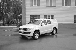 Спецавтомобиль бронированный для перевозки денежной выручки и ценных грузов на базе автомобиля «Volkswagen Amarok»