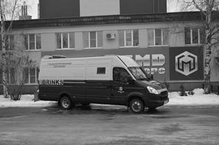 """Спецавтомобиль бронированный для перевозки денежной выручки и ценных грузов на базе автомобиля """"Iveco Daily"""""""
